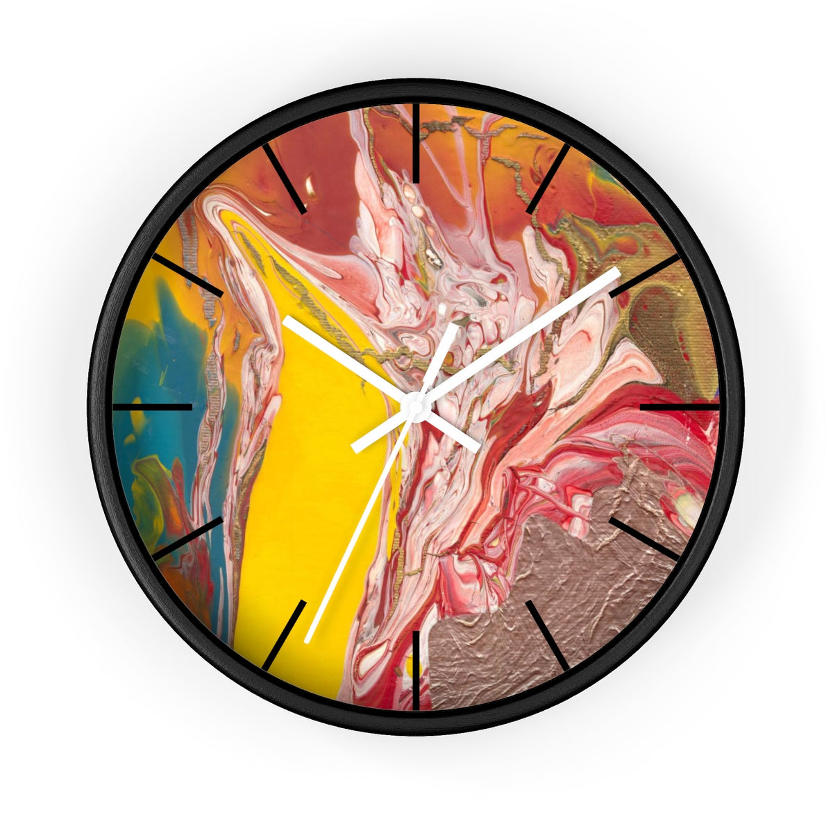 UNDERWATER LIFE  Wall clock   10""