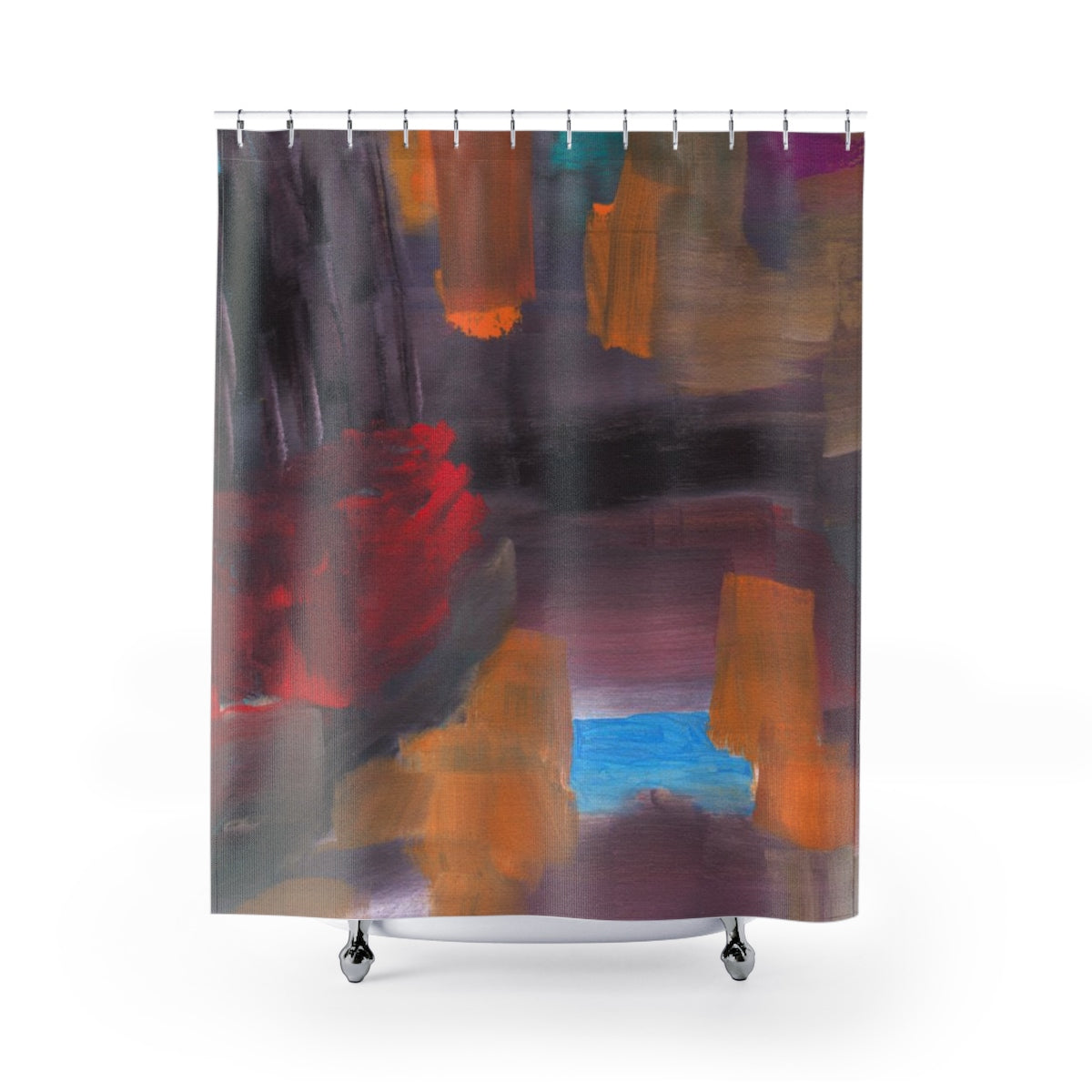 "CAVE VIEW Shower Curtain   71"" x 74"""