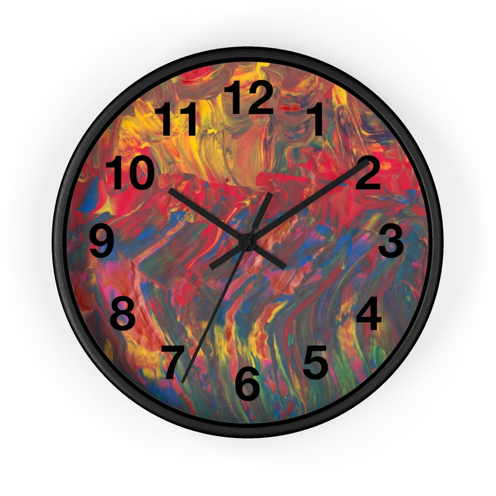 AFRICAN DANCERS  Wall clock  10""