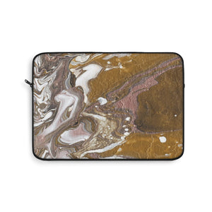 "GOLD RUSH  Laptop Sleeve    12"" x 8"" , 13"" x 9"", 15"" x 10"""