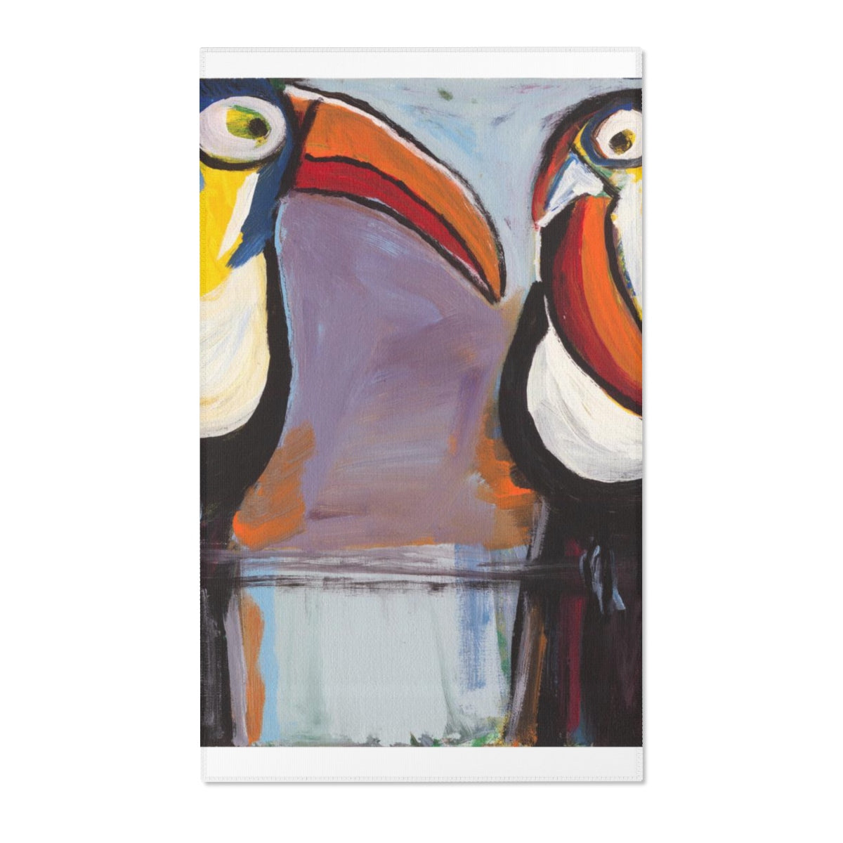 "TOUCANS  Area Rugs  24"" x 36"""