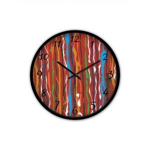 CARNIVAL  Non-Ticking Silent Wall Clock for Wall Decoration (Black)