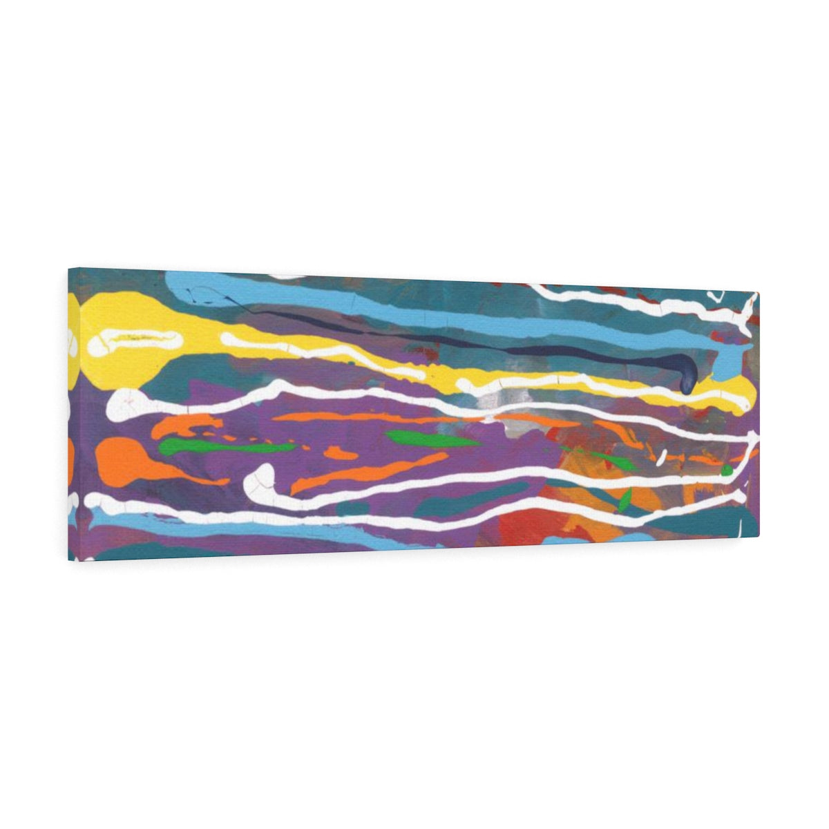 "MARDI GRAS  Canvas Gallery Wraps  10"" x  8"""