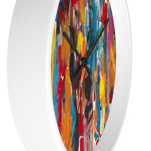 COLOR FUSION Wall Clock  10""