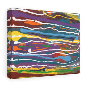 "MARDI GRAS  Canvas Gallery Wraps  24"" x  18"""