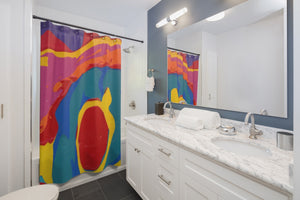 "COLOR MERGE Shower Curtain   71"" x 74"""