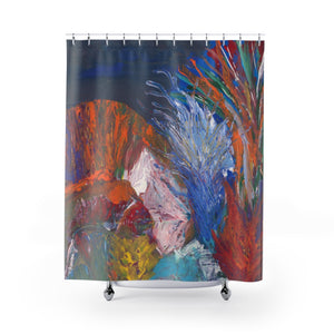 "SEA LIFE Shower Curtains  71"" x 74"""