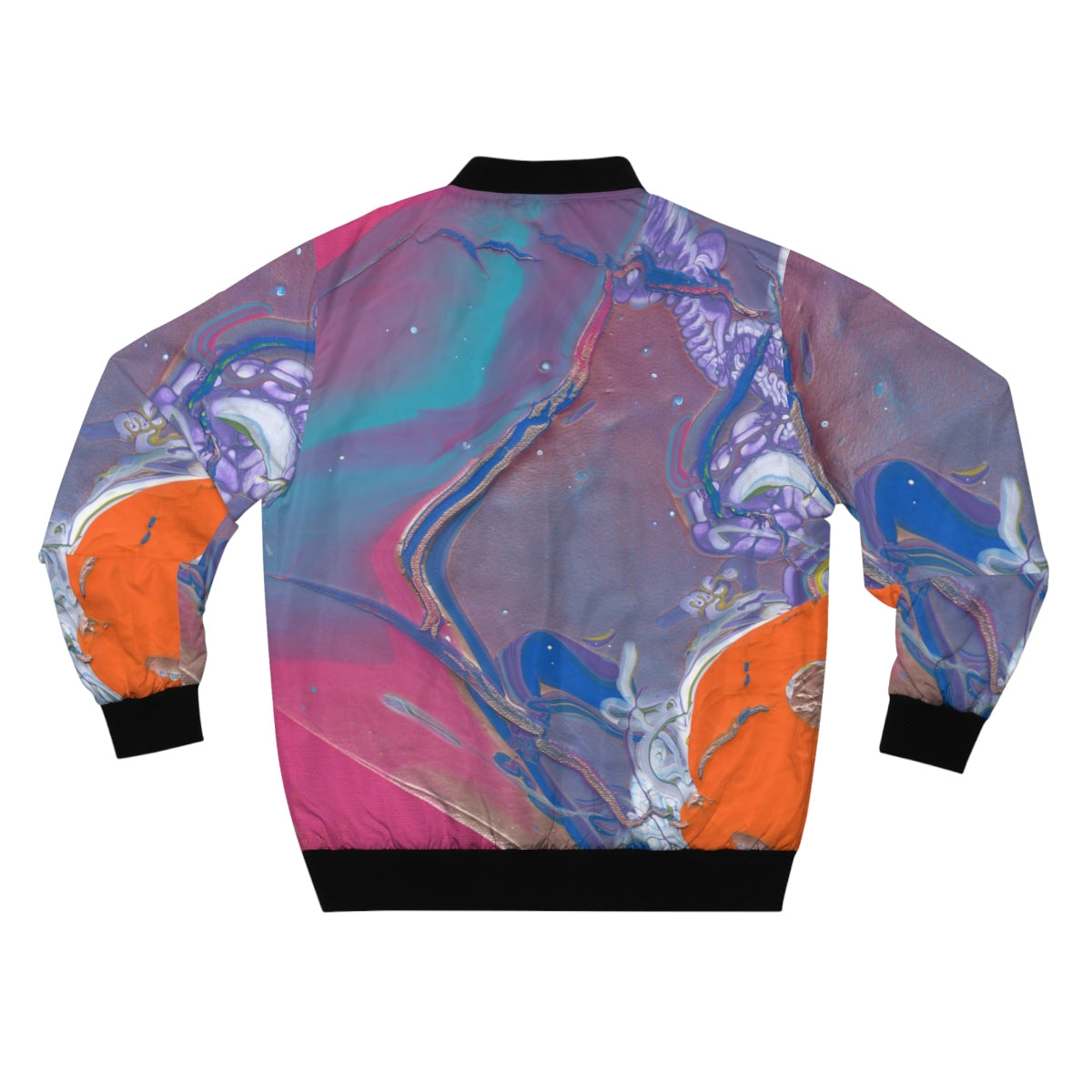 UNDER WATER LIFE  2  AOP Bomber Jacket  SIZES  XS - 3XL