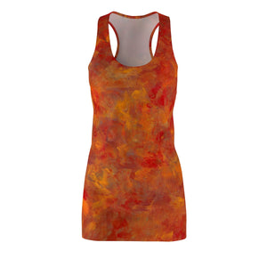 LAVA FLOW  Women's Cut & Sew Racerback Dress  SIZES  XS - 2XL