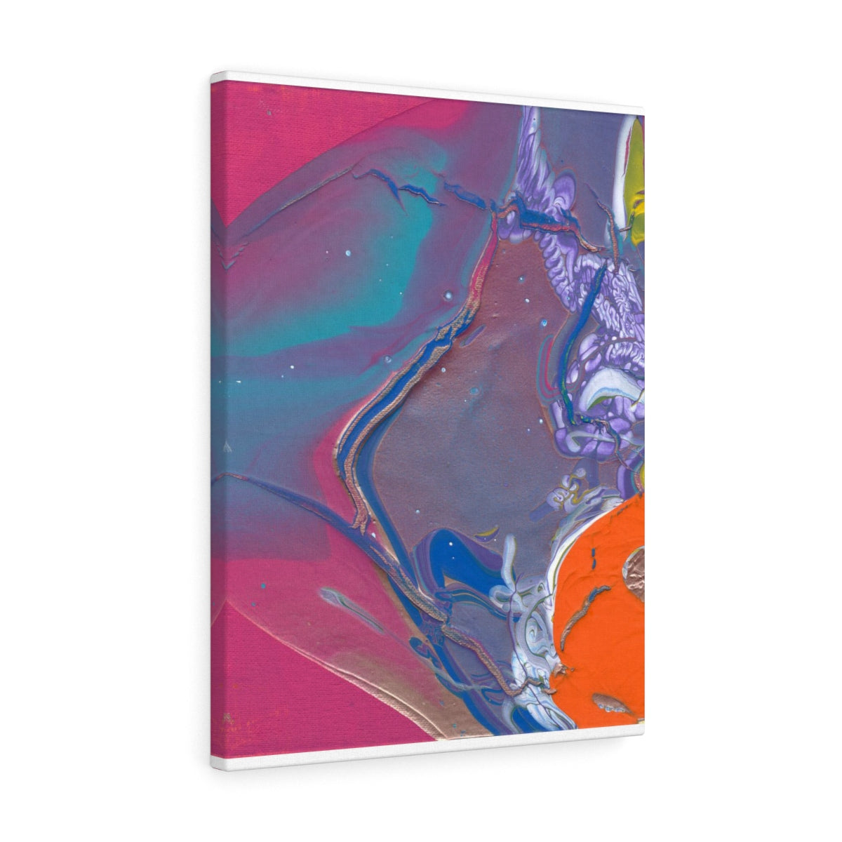 "UNDER  WATER LIFE  2  Canvas Gallery Wraps  8"" x 10"""