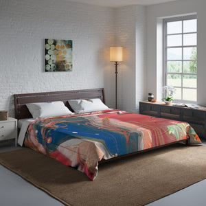 "BIRD OF PREY Comforter  88"" x 88"""