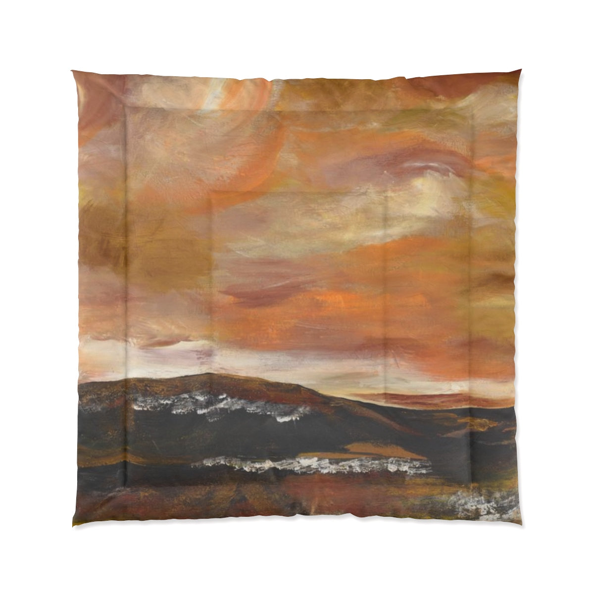 "GOLDEN VALLEY  Comforter  88"" x  88"""