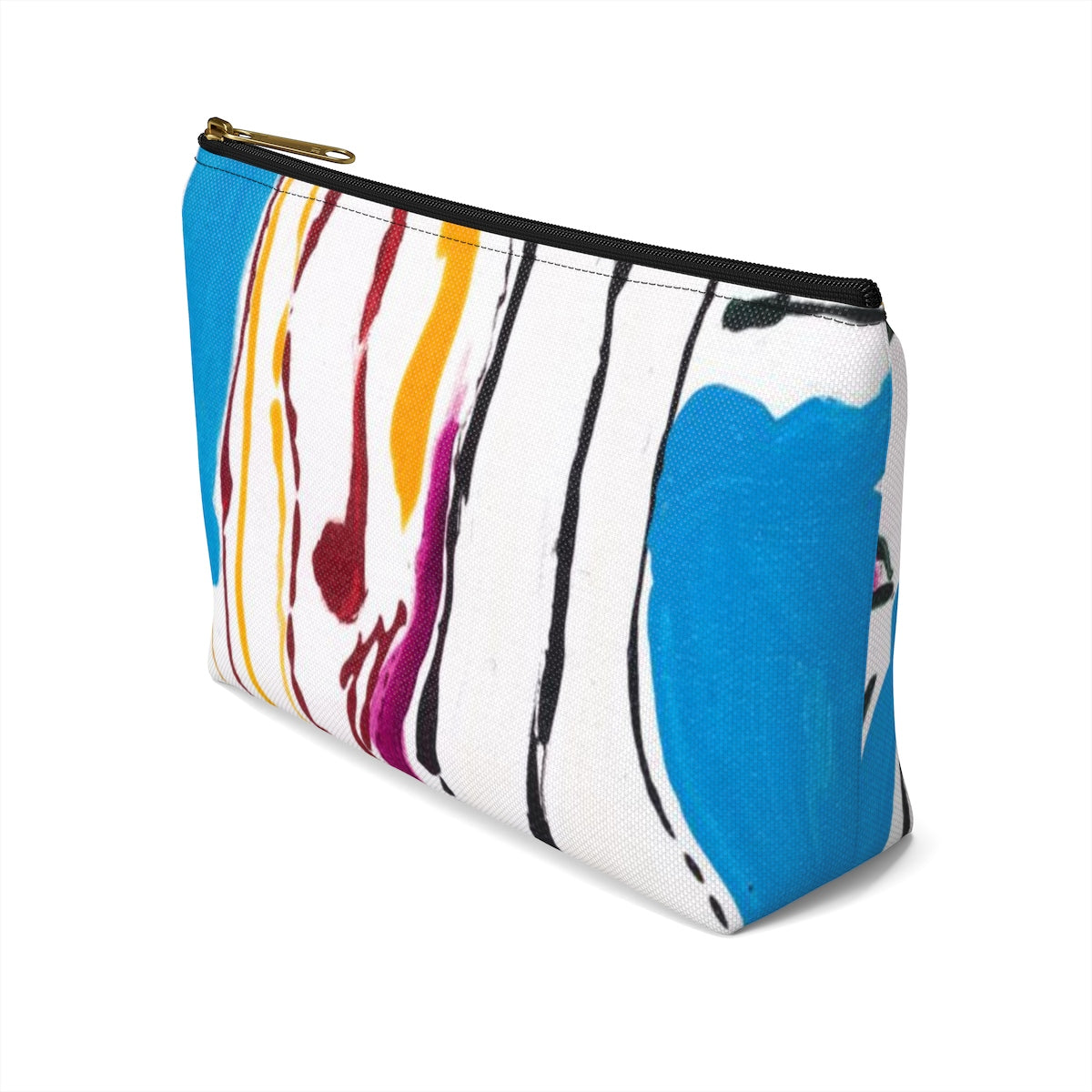 4 BODIES  Accessory Pouch w T-bottom  LARGE