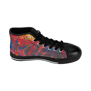AFRICAN DANCERS UNISEX High-top Sneakers  SIZES  6 - 14