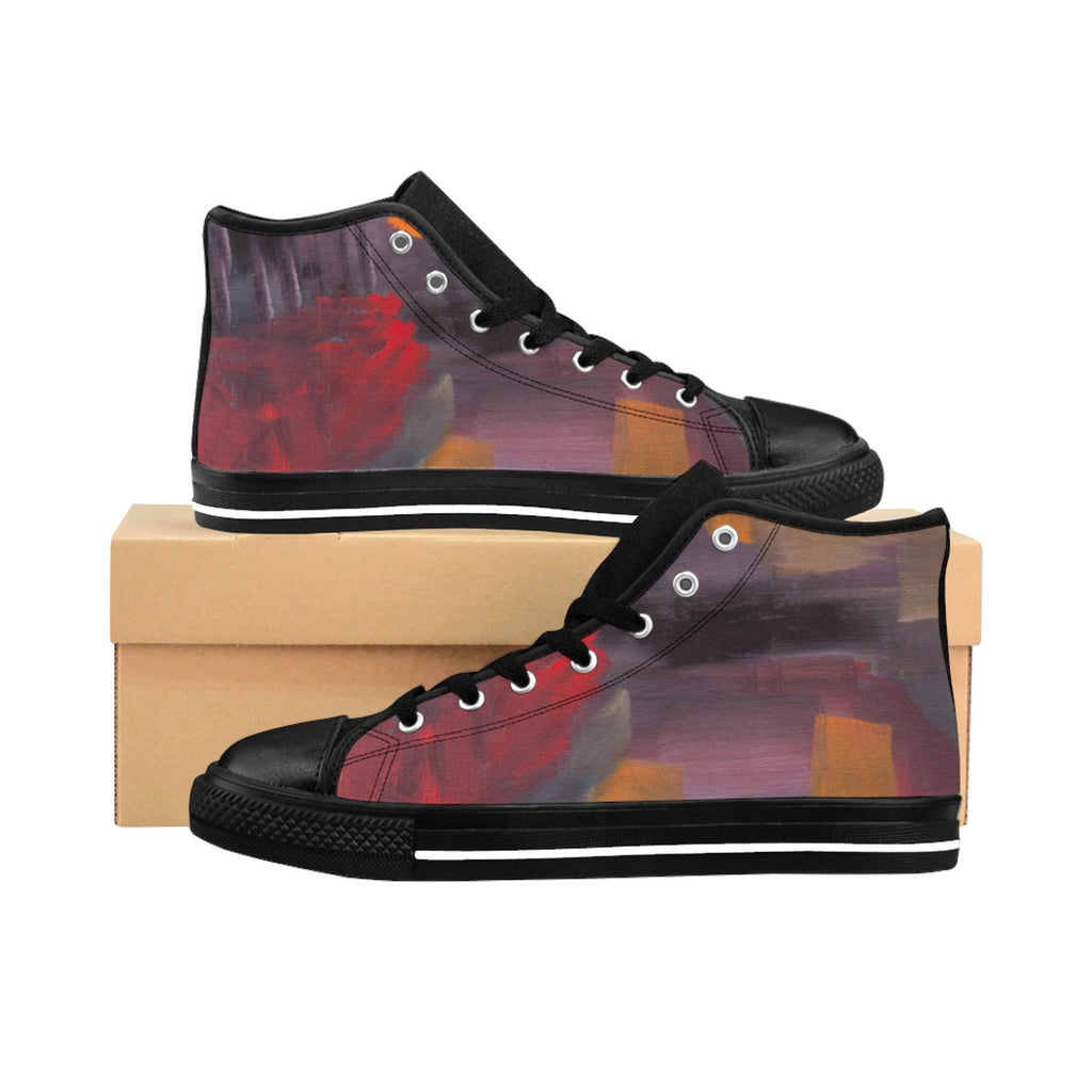 CAVE VIEW UNISEX High-top Sneakers  SIZES  6 - 12