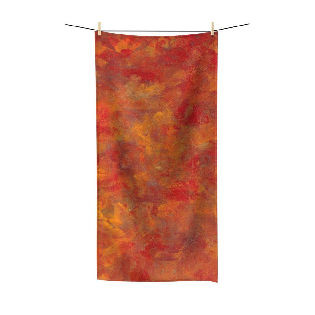 "LAVA FLOW Polycotton Towel  36"" x 72"""