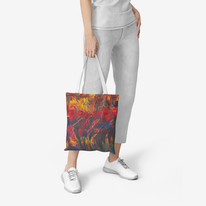 AFRICAN  DANCERS Heavy Duty and Strong Natural Canvas Tote Bags