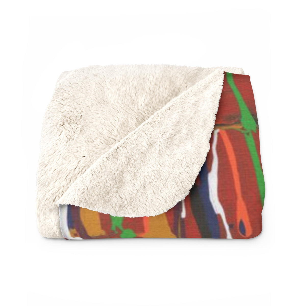 "CARNIVAL  Sherpa Fleece Blanket  60"" x 80"""