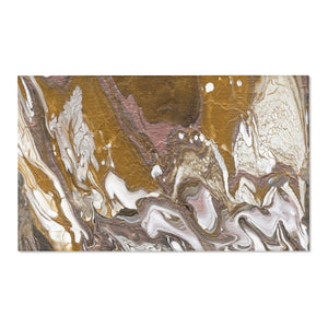 "GOLD RUSH Area Rug   60"" X 36"""