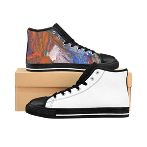 SEA  LIFE  Women's High-top Sneakers  SIZES 6 - 12