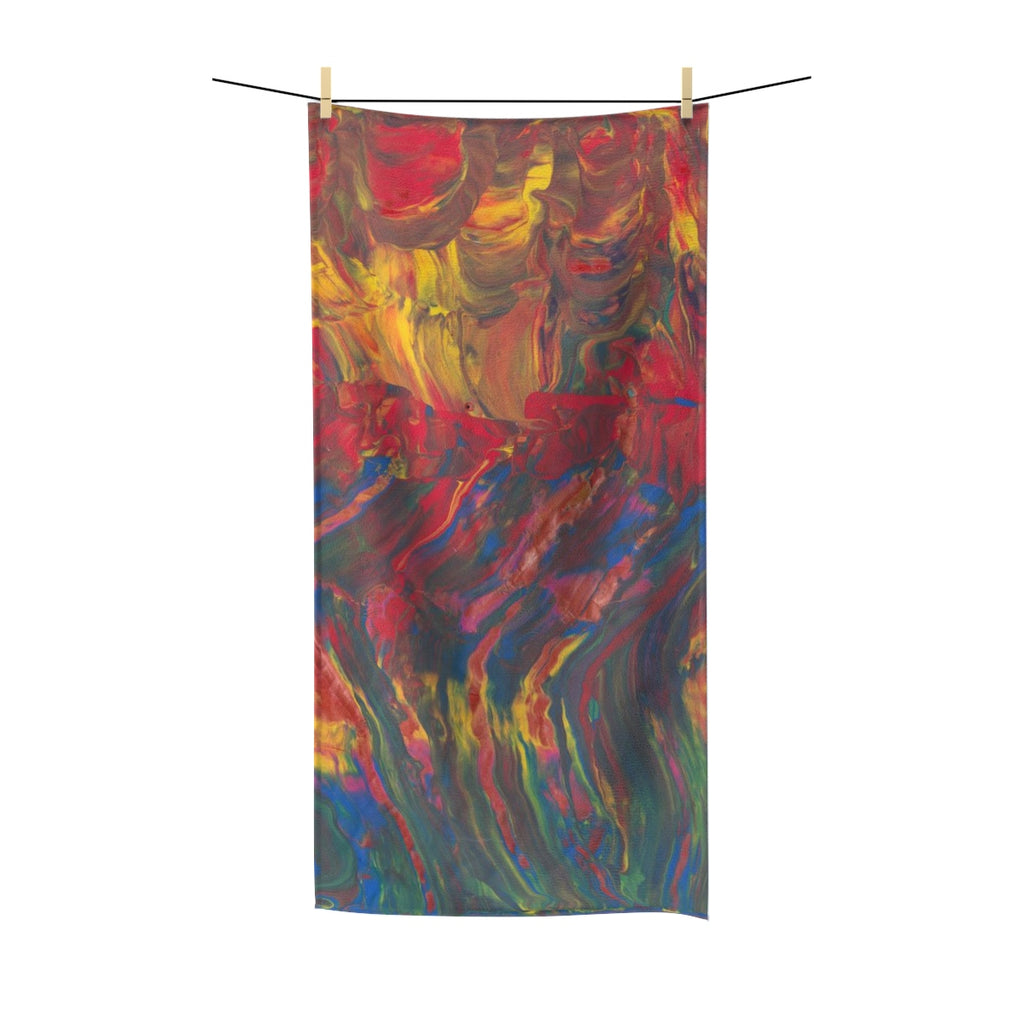 "AFRICAN DANCERS Polycotton Towel  30"" x 60"""