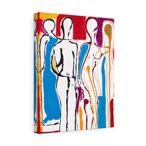 "4 BODIES Canvas Gallery Wraps  8""x 10"""