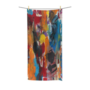 "COLOR FUSION Polycotton Towel 36"" X 72"""