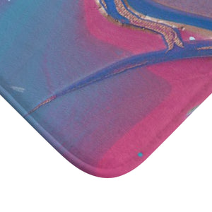 "UNDER WATER  LIFE 2  Bath Mat      LARGE 34"" x 21"""