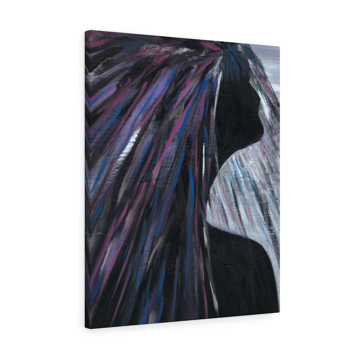 "PURPLE RAIN  Canvas Gallery Wraps   11"" x 14"""