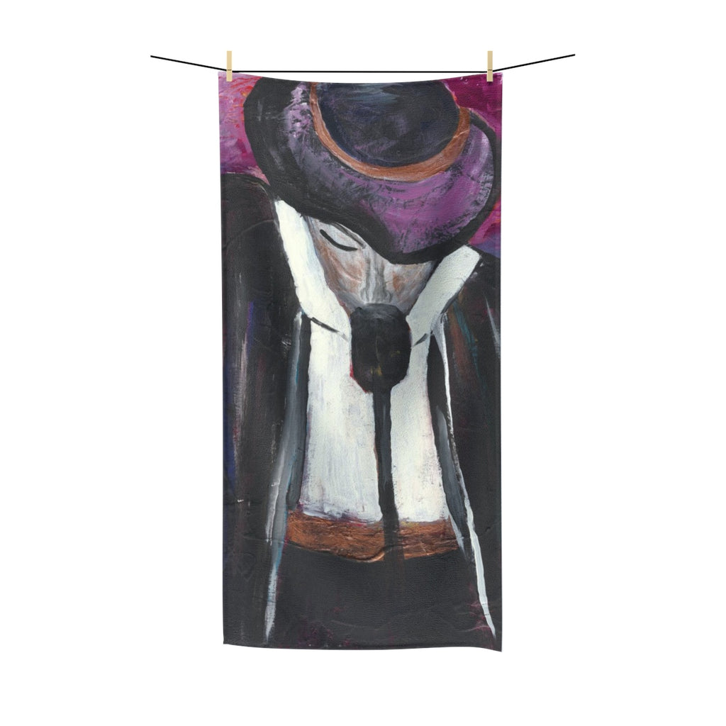 "THE ENTERTAINER  Polycotton Towel   36"" x 72"""