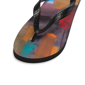 CAVE VIEW  Unisex Flip-Flops  SIZES   SMALL - LARGE