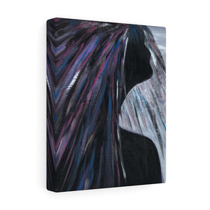 "PURPLE RAIN  Canvas Gallery Wraps  12"" x  16"""