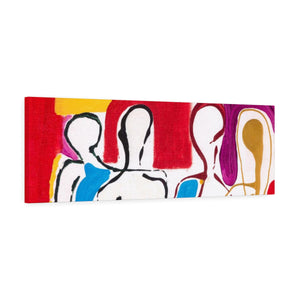 "4 BODIES Canvas Gallery Wraps 36"" x 12"""