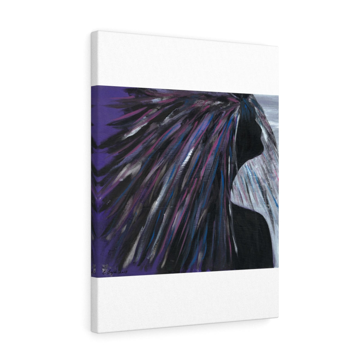 "PURPLE RAIN  Canvas Gallery Wraps  36"" x 12"""