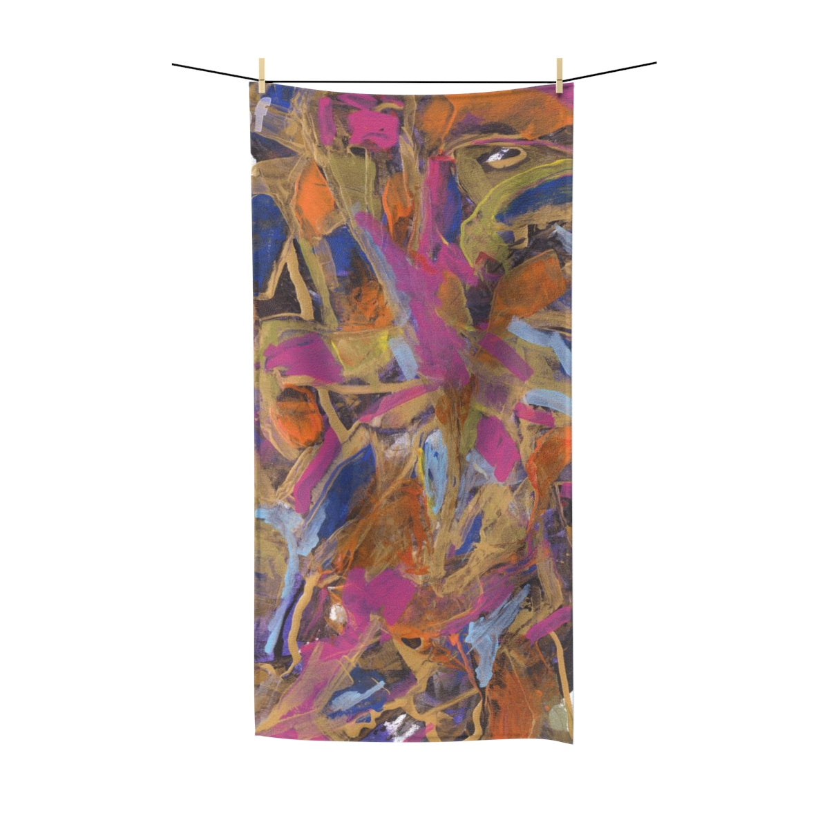 "PHOENIX FROM ASHES Polycotton Towel  30""  x  60"""