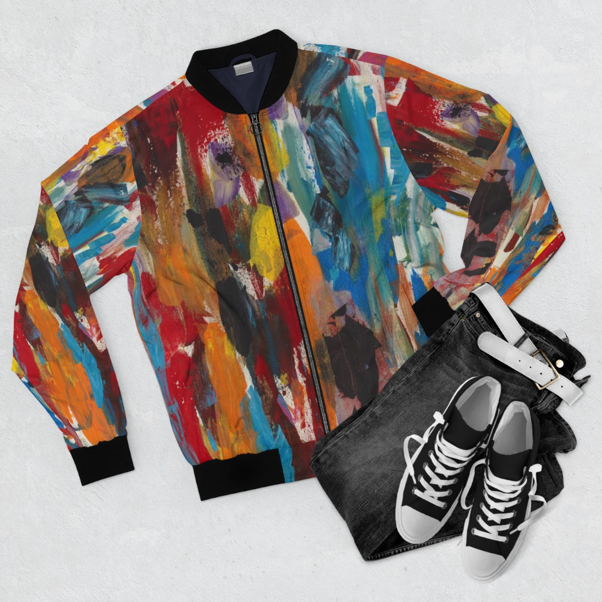 COLOR FUSION UNISEX  Bomber Jacket  SIZES  XS - 3 XL