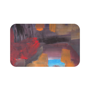 "CAVE VIEW Bath Mat   LARGE 34"" x 21""   SMALL 24"" x 17"""