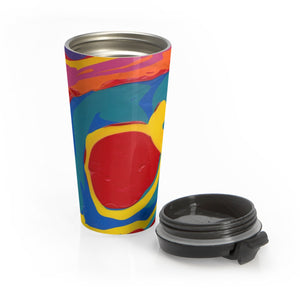 COLOR MERGE  Stainless Steel Travel Mug