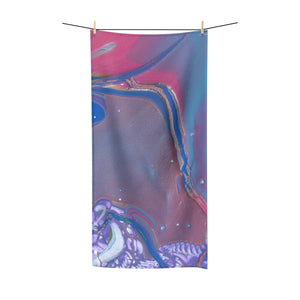 "UNDER WATER LIFE 2  Polycotton Towel  36""  x  72"""