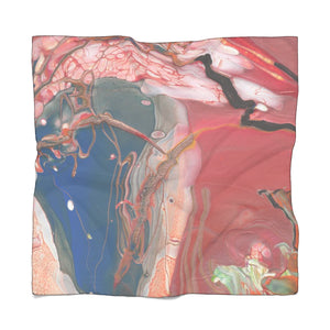 "BIRD OF PREY Poly Voile Scarf  50"" x 50'"