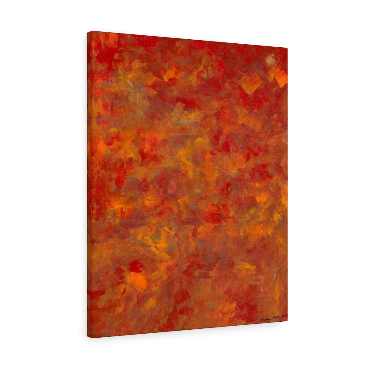 "LAVA FLOW Canvas Gallery Wraps  8"" x  10"""