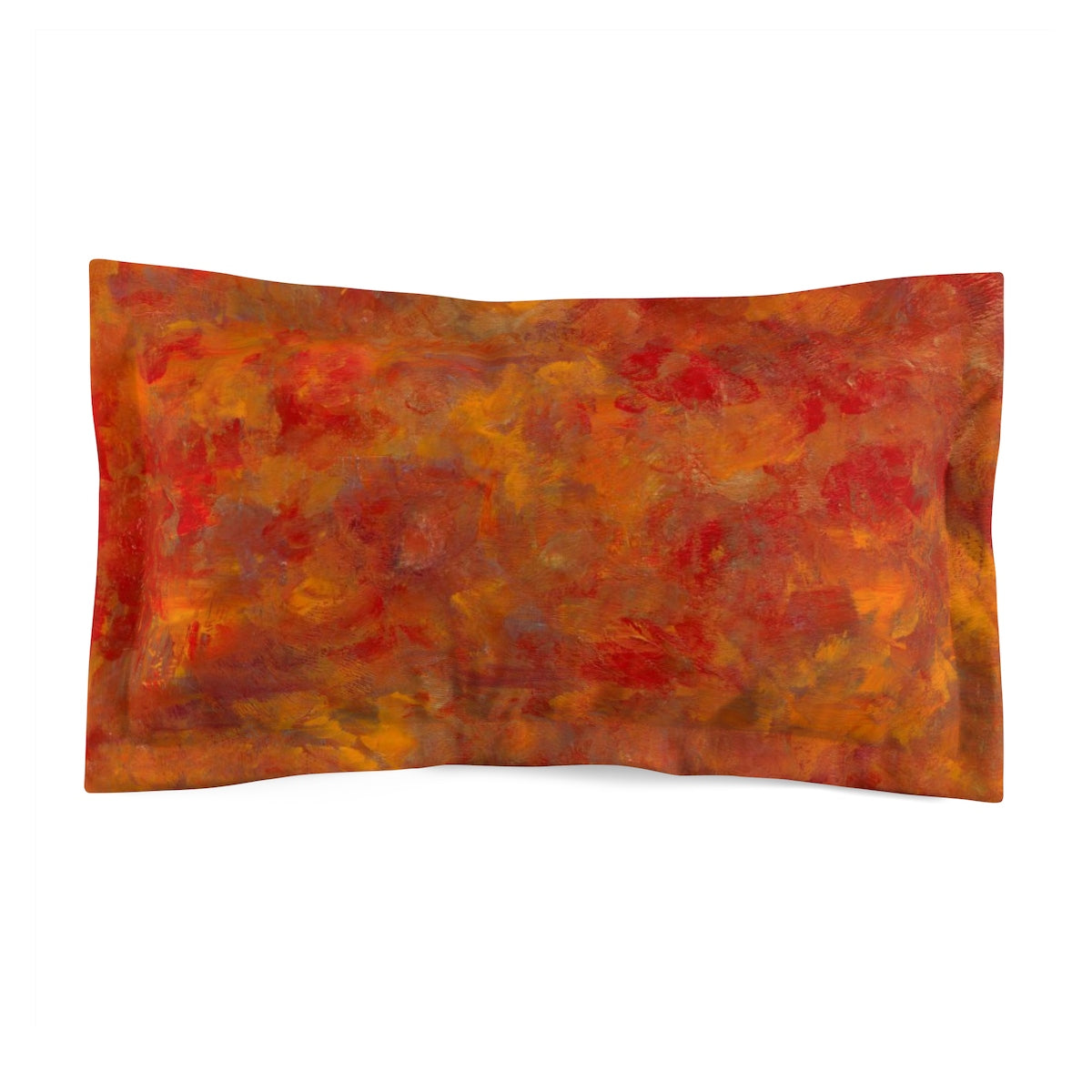 Lava Flow Microfiber Couch Pillow Sham
