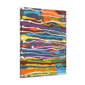 "MARDI GRAS  Canvas Gallery Wraps  8""  x 10"""