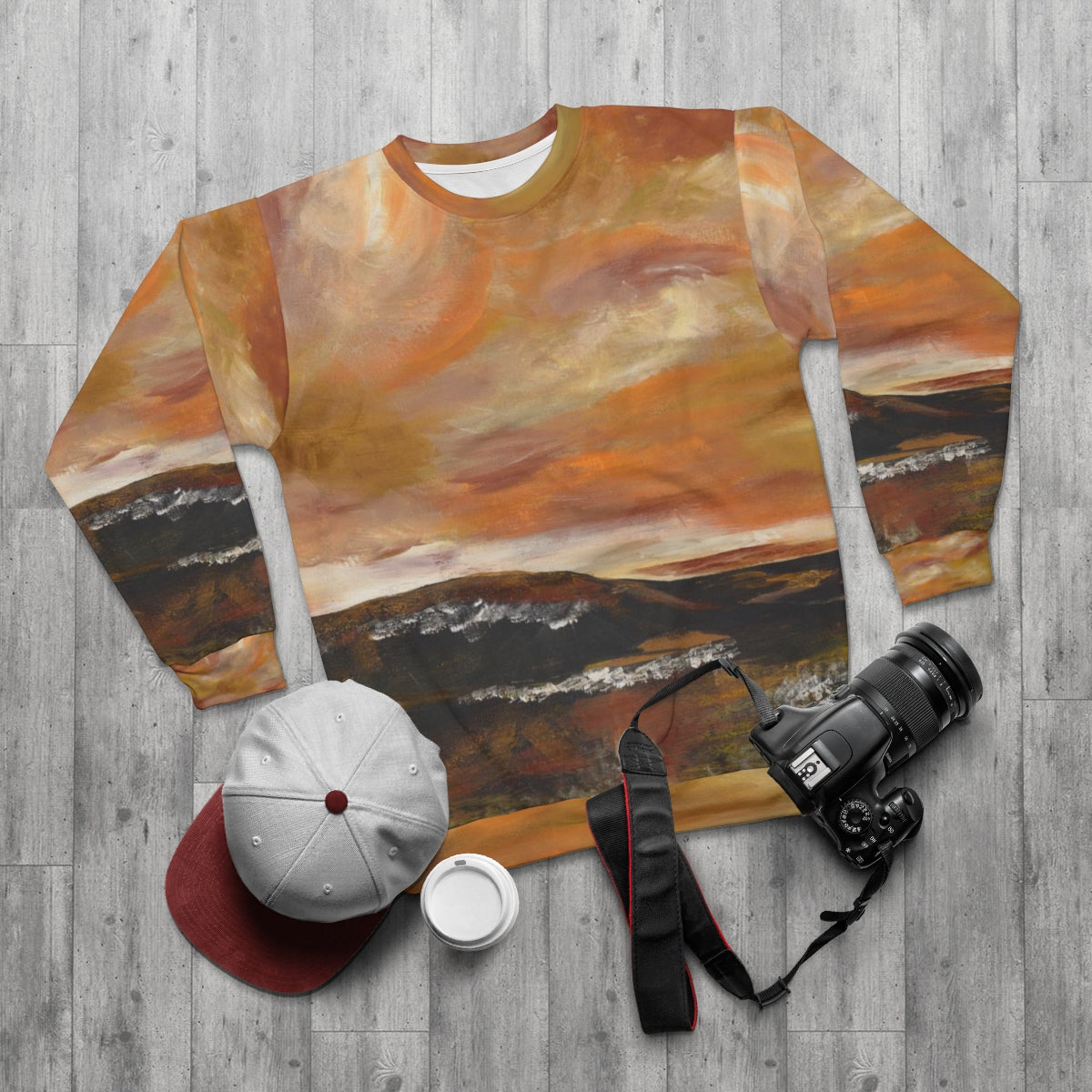 GOLDEN VALLEY Unisex Sweatshirt  SIZES  XS - 2 XL