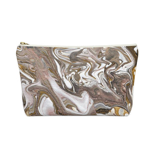 GOLD RUSH   Accessory Pouch w T-bottom  LARGE