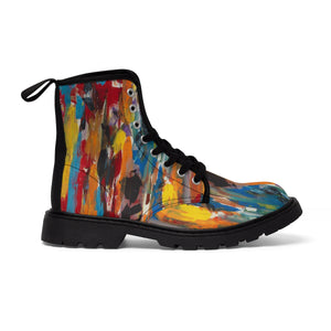 COLOR  FUSION UNISEX Martin Boots  SIZES  6.5 - 11