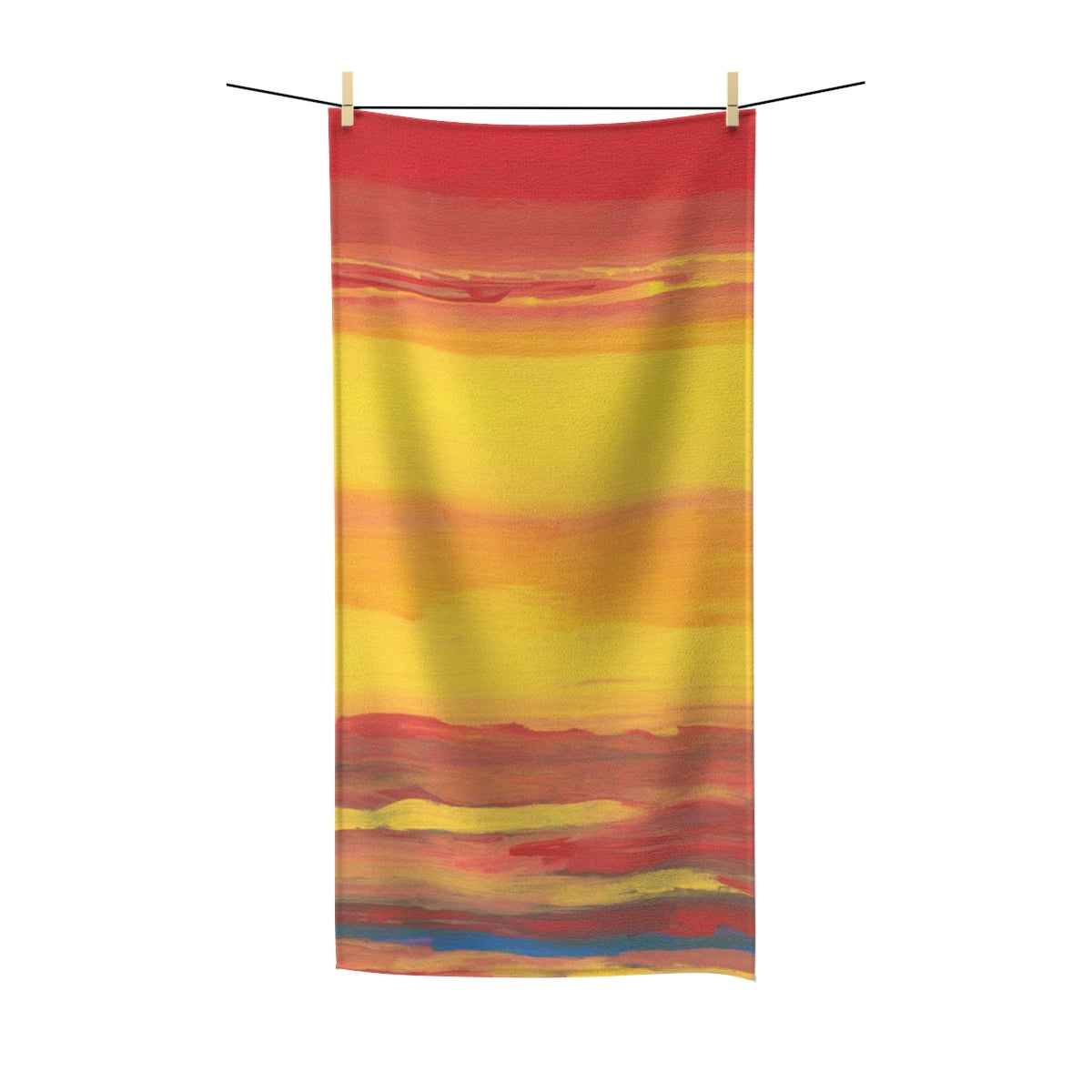 "SUNRISE SUNSUN Polycotton Towel  36"" x 72"""