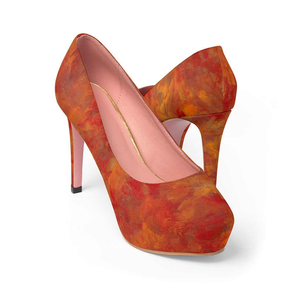 LAVA FLOW  Women's Platform Heels  SIZES  5 -11