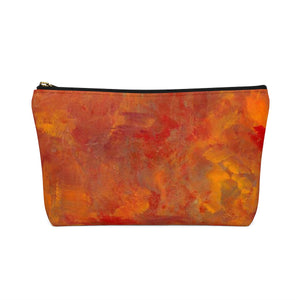 LAVA FLOW  Accessory Pouch w T-bottom  LARGE