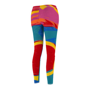 COLOR MERGE  Women's Casual Leggings  SIZES  XS - 2 XL